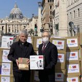 Taiwan donates rice cookers, canned food to the Vatican - Focus Taiwan