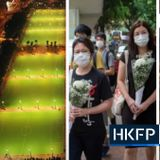 Hong Kong park empty for the first time in 32 years as police surround venue to prevent banned Tiananmen Massacre vigil | Hong Kong Free Press HKFP