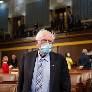 """Bernie Sanders reminds Americans """"not a single Republican voted"""" for $1,400 stimulus checks"""