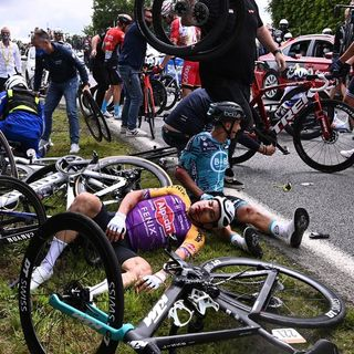 Spectator who caused massive crash at Tour de France missing after fleeing the country