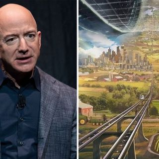 The O'Neill Cylinder: Jeff Bezos' vision for an 'incredible civilisation' in space supporting entire ecosystems