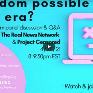 """Third Installment of """"The Long Sili-CON: Power and Censorship in the Digital Era,"""" - The Project Censored Show"""