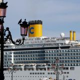 Italy to ban mammoth cruise ships from Venice as of Aug. 1