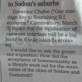 """Welcome, Rhode Island, to Sodom's Suburbs"""