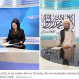 Taliban bans women anchors from working after promising freedom