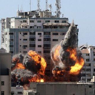Human Rights Watch says Israeli strike on Gaza high-rise broke international law