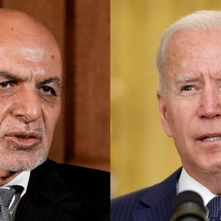Exclusive: Before Afghan collapse, Biden pressed Ghani to 'change perception'