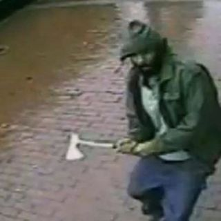 Hatchet attacker ranted about US, officials say