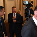 Coronavirus Australia: Chinese consul-general crashes Greg Hunt's press conference