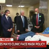 Study: Liberal TV Nets Give Pence Not Wearing Mask 3x More Coverage Than Biden Scandal