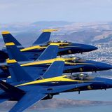 Blue Angels postpone flyover tribute to Michigan healthcare workers
