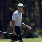 Barack Obama Goes Golfing After Michelle Said Stay Home