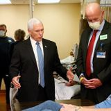 Sorry, Guys. Mike Pence Is Not an Idiot for Not Wearing a Mask at the Mayo Clinic