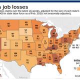 Florida has overtaken California as the US jobless claims capital