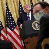U.S. Intelligence Says Coronavirus Isn't Manmade. Trump Isn't So Sure.