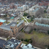 A Drone Captured Eerie But Inspiring Footage Of A Very Empty Ann Arbor During The Pandemic In Michigan