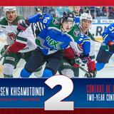 Canadiens agree to terms with forward Arsen Khisamutdinov
