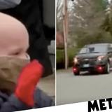 Boy, 7, who beat cancer and coronavirus gets huge hero's welcome home