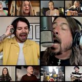 """Dave Grohl says BBC Radio 1's 'Times Like These' charity cover made him """"fight back tears"""""""