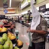 Man with KKK Hood at Santee Vons Sparks Sheriff's Probe - Times of San Diego
