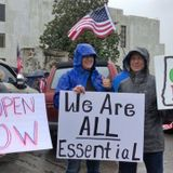 Oregonians demand state's reopening at Salem rally
