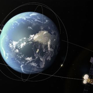 Asteroid has close encounter with geosynchronous satellite