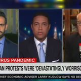 CNN Suggests Going Outside for Fresh Air Is a 'Dangerous' 'Betrayal' to Hospital Workers