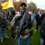 Right-wing militia group threatens police at protests: Stop enforcing laws or else