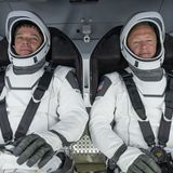 How long will the 1st astronauts to ride SpaceX's Crew Dragon be in space? No one knows exactly (yet).