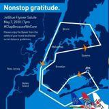 Coronavirus News: JetBlue to fly over NYC Thursday evening