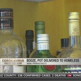 Alcohol, pot delivered to homeless isolating in San Francisco hotel rooms