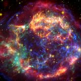Could a supernova have made humans bipedal?