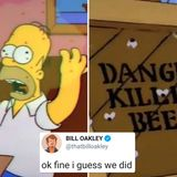 Simpsons DID predict corona AND murder hornets in 1993 episode, writer admits