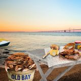 The Good News You Didn't Know You Needed: You Can Now Download an Old Bay-Themed Zoom Background | Washingtonian (DC)