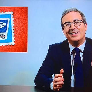 John Oliver Launches Branded Stamps to Support U.S. Postal Service