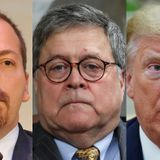 Trump wants Chuck Todd 'fired' over the editing of Barr's 'history is written by the winners' clip