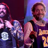 """Dave Grohl says Post Malone's Nirvana livestream """"sounded great"""" 