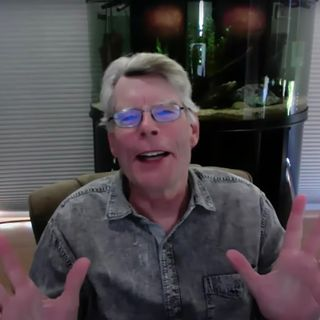 Stephen King Apologizes to Colbert for Predicting COVID-19