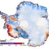 New satellite maps show dire state of ice melt in Antarctica and Greenland