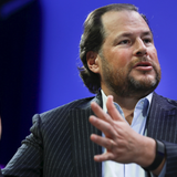 Salesforce CEO Marc Benioff created a ragtag corporate alliance to source 50 million pieces of medical gear in 10 days