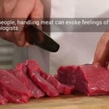 How handling meat leads to psychological numbness