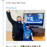 WTH Is This? Creepy Harvard Prof Posts Photo of Him and His Kid Giving Salute to Dr. Fauci