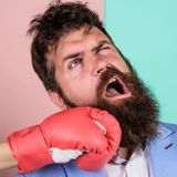Did men's beards evolve to absorb a punch to the jaw?
