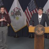 Pritzker: COVID-19 danger greater in Monroe County than Chicago