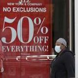 US retail sales plunged a record 16% in April as virus hit