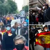 Social unrest could explode in Spain, cops fear as corona protests break out