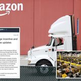 Amazon ending 'hero pay' in Canada slashing hourly wages and cutting double overtime pay despite coronavirus outbreaks