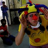 COVID-19: Clowns visit Indian shelters, briefly giving stranded migrants a laugh