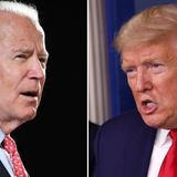 Trump and Biden signal bitter general election with latest attack ads