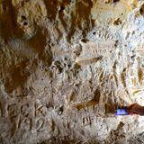 Aboriginal rock art, frontier conflict and a swastika